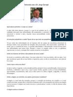 Entrevista com o Dr. Jorge Carvajal