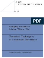 (Notes on Numerical Fluid Mechanics 16) Kenneth Eriksson, Claes Johnson (auth.), Wolfgang Hackbusch, Kristian Witsch (eds.) - Numerical Techniques in Continuum Mechanics_ Proceedings of the Second GAM