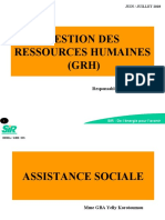 MODULES FORMATION ASSISTANCE SOCIALE