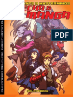 Mutants and Masterminds - Mecha and Manga
