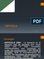 HIPOTECA. escribania