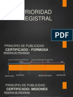 PRIORIDAD REGISTRAL gráfico. escribania
