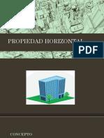 PROPIEDAd HORIZONTAL. escribania