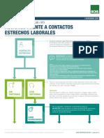 3 ACCIONES FRENTE A CONTACTOS ESTRECHOS LABORALES CN