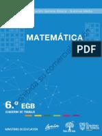 Cuaderno de trabajo de Matemática