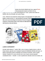 """Linus"" , cinquant'anni dopo – Marco D'Angelo"