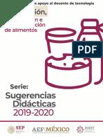 Preparación Conservación e Industrialización de Alimentos