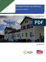 SNCF Réseau- Etudes préliminaires suppression PN 8 Nemours-Saint-Pierre- concertation