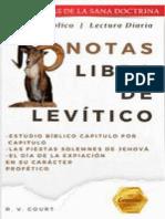 Notas sobre Levítico