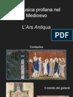 La musica profana nel medioevo e le origini della polifonia
