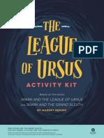 The League of Ursus Activity Kit