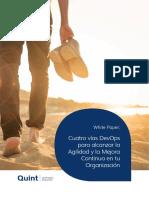 02 - White Paper - Cuatro vías DevOps para alcanzar la Agilidad y la Mejora Continua en tu Organización