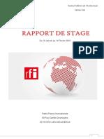 Rapport de Stage Av2 Etienne Colin