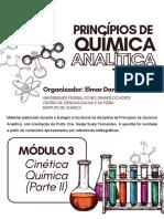 Módulo III - Cinética Química - Parte II
