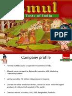 Brand Audit - Amul