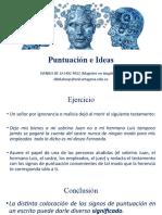 PUNTUACIÓN E IDEAS