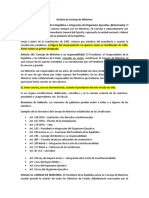 5. Historia de Consejo de Ministros