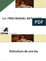5 . Estructura de una Ley