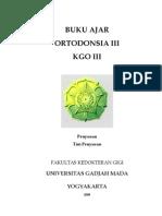 buku ajar ortodonti