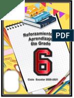 Cuadernillo Remedial Sexto Grado 2020-2021