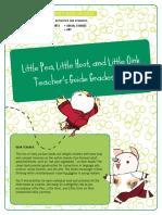 Little Pea Hoot Oink Teacher's Guide