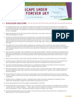 Escape Under the Forever Sky Discussion Guide