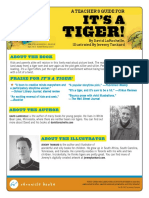 It's a Tiger! Teacher Guide