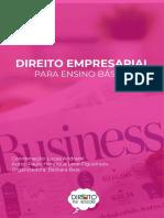 Direito empresarial para ensino basico