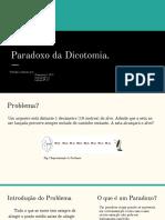 Paradoxo Da Dicotomia