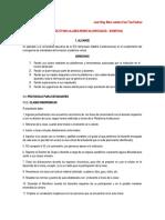 Protocolo para clases virtuales Lunes 8