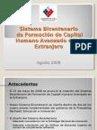 Sistema Bicentenario - Agosto2008