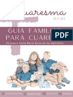 Guia Familiar Para CUARESMA