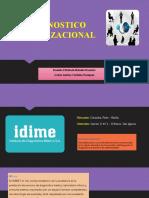 Diagnostico Organizacional Idime s.A