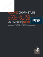 MODIFIED CHOPIN EXERCISES BY NAHRE SOL (EASIER VERSIONS)