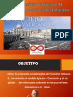 El Vaticano II y Su Eclesiología