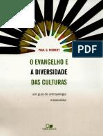 O Evangelho e a Diversidade Das Culturas Paul g. Hiebert