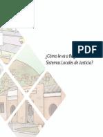 Caja de Herramientas de los Sistemas Locales de Justicia. Vol 6