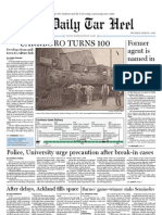 The Daily Tar Heel for March 3, 2011