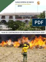 plan de incendios forestales