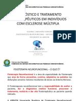 AVALIAÇAO E TRATAMENTO ESCLEROSE MULTIPLA