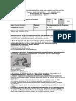 EVALUACION DE SOCIALES  GRADO 11 .0 PRIMER PERIODO