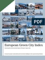 European Green City Index