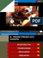PRINSIP-PRINSIP ANTI KORUPSI