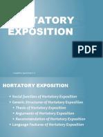 PPT HORTATORY