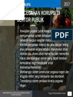 PENCEGAHAN KORUPSI DI SEKTOR PUBLIK