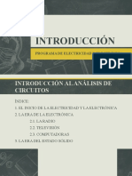 INTRODUCCIÓN CURSO ELECTRICIDA DY ELECTRONICA BASICA