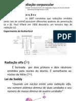 Radiação corpuscular