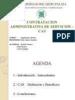 Contratación Administrativa de Servicios