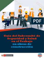 Guía del Subcomité de SST