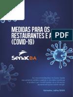 Medidas Para Os Restaurantes e Afins Covid 19